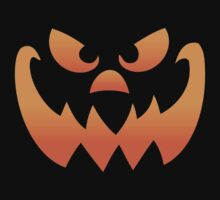 Pumpkin Halloween Jack O Lantern Face by HolidaySwagg