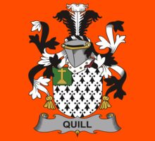 Quill Coat of Arms (Irish) Kids Clothes