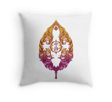 Serenity Victoriana - Color Throw Pillow