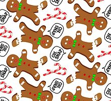 Oh, Snap Gingerbread Pattern by HolidaySwaggC