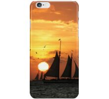Sunset Sail in Key West II iPhone Case/Skin