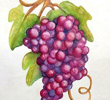 Tuscan Grapes by ShireenJackson