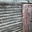 the door to Old Maldon - Australian gold rush town.  by geof