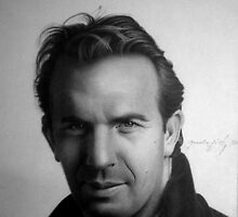 KEVIN COSTNER by MiroArt