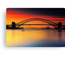 Vivid Sunrise Canvas Print