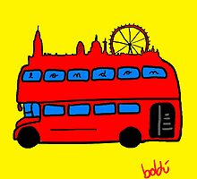 London Bus by Xavierboldu