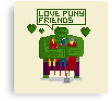 LOVE PUNY FRIENDS Canvas Print