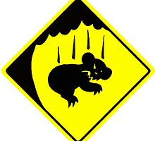 CAUTION: DROP BEARS by tnewton69