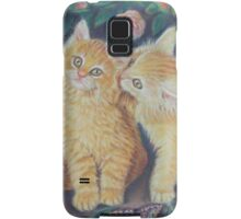Cats and Roses Samsung Galaxy Case/Skin