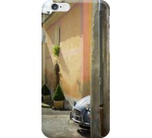 Citroen 2CV in France iPhone Case/Skin