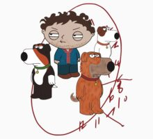 hannibal - will graham - family guy - stewie by FandomizedRose
