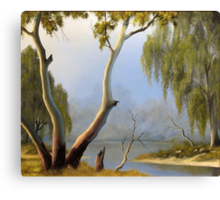 Willow Creek Canvas Print