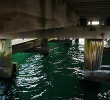 Under the jetty by John Billing