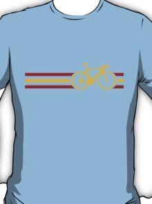 Bike Stripes Spanish National Road Race v2 T-Shirt