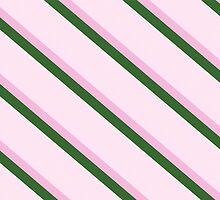 Pink Roses in Anzures 2 Stripes 4D by Christopher Johnson