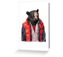 Bear to the Future Greeting Card