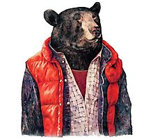 Bear to the Future Photographic Print