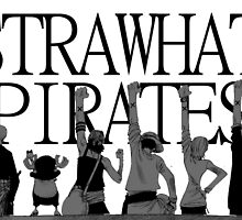 Strawhat pirates  by Nomad56641