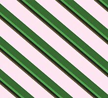 Pink Roses in Anzures 2 Stripes 5D by Christopher Johnson