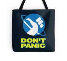 Hitchhiker's Guide To The Galaxy (Don't Panic) Tote Bag