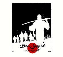 Seven Samurai by ixrid