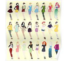 Disney Fashion Poster