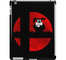Smash and Laugh (red) iPad Case/Skin