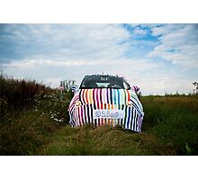 My knitted car Photographic Print
