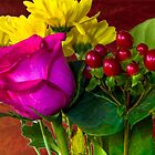Colorful Bouquet by George Lenz