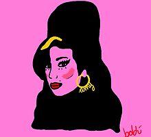 Amy Winehouse by Xavierboldu