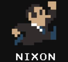 Richard Nixon in 8-Bits by chopshopstore