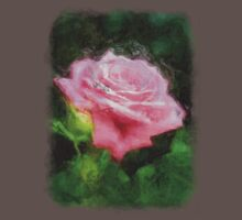 Pink Roses in Anzures 3 Sketchy Kids Clothes