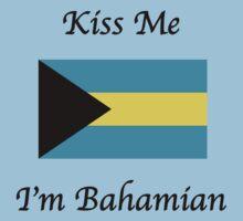 Kiss Me I'm Bahamian by Ryan Mallia