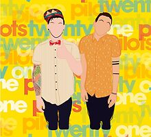 my band, twenty one pilots by mariian