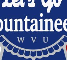 Pabst Blue Ribbon - WVU Sticker