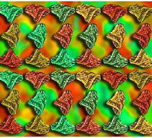 Vibrant Earth Tone Duvet by GolemAura