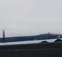 Golden Gate bridge by Santamariaa