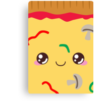 Veggie Pizza Canvas Print