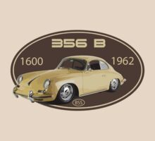 PORSCHE 356 B 1600 by BSsociety