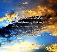Skywards by Christina  Ochsner