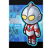 ULTRAMAN POOTERBELLY Photographic Print