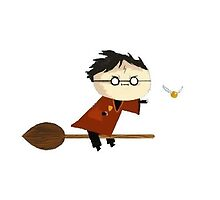 Harry Potter Quidditch by LuisaW
