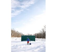 Game off Photographic Print