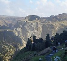 Tintagel Castle by Creativity for Sanctuary for Kids
