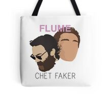 Chet Faker & Flume - Minimalistic Print Tote Bag