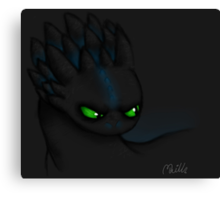 The Alpha Species Canvas Print