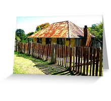 Beyers Cottage - Hill End Greeting Card