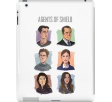 Agents of SHIELD Portraits iPad Case/Skin