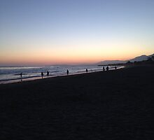 Sunset in SoCal by Margelazar
