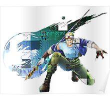 Cid Highwind Grid Artwork and Logo Poster